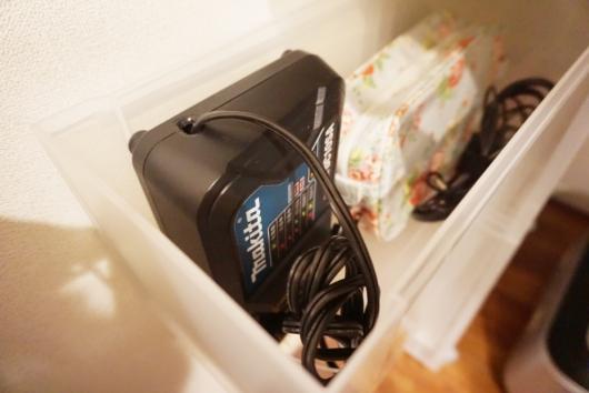 マキタ掃除機 充電器