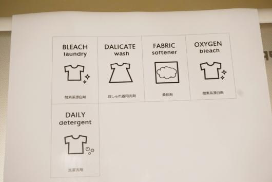 洗剤ラベル エクセル