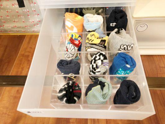 100均 靴下収納