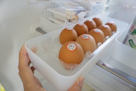 無印整理ボックス 卵