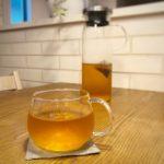 冷茶ポットはiwakiのジャグを愛用中
