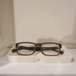 メガネの定位置。