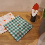 中川政七商店のハンカチブランド『motta』のクリスマスハンカチを買う